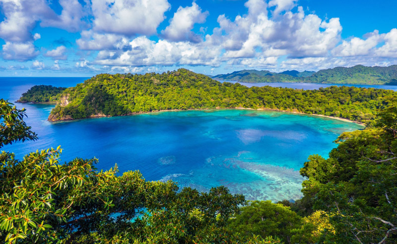 fiji matangi private island resort bay