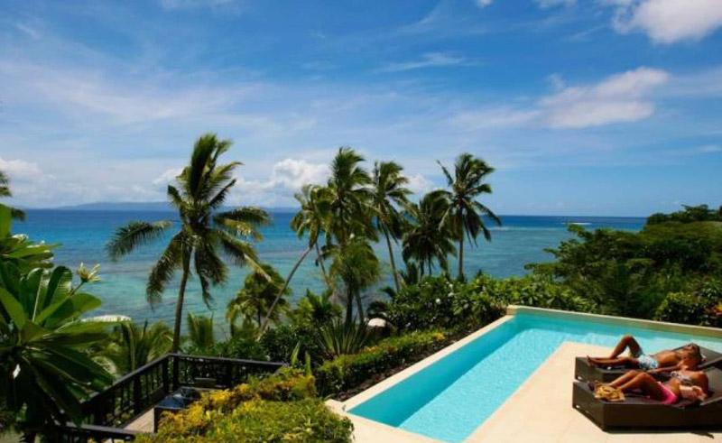 fiji taveuni palms resort spa villa infinity pool