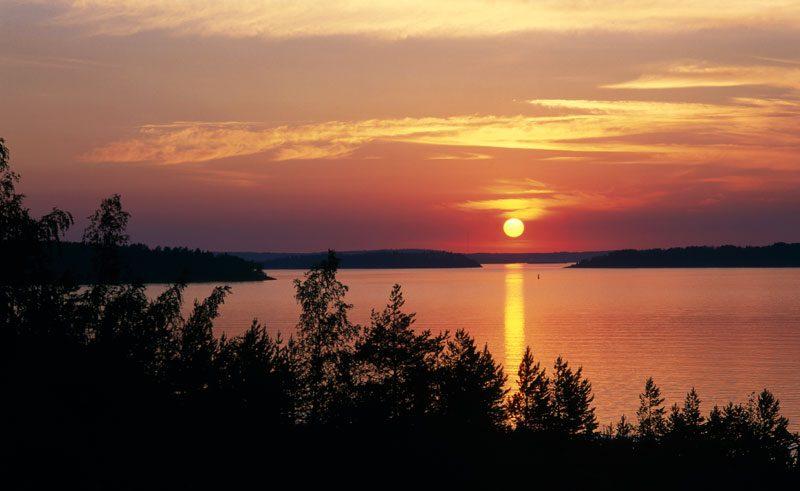 finland lakeland midnight sun vf