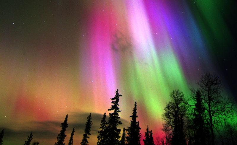 finland lapland aurora vf