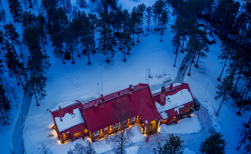finland lapland beana laponia aerial rth