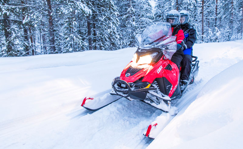 finland lapland beana laponia snowmobiling
