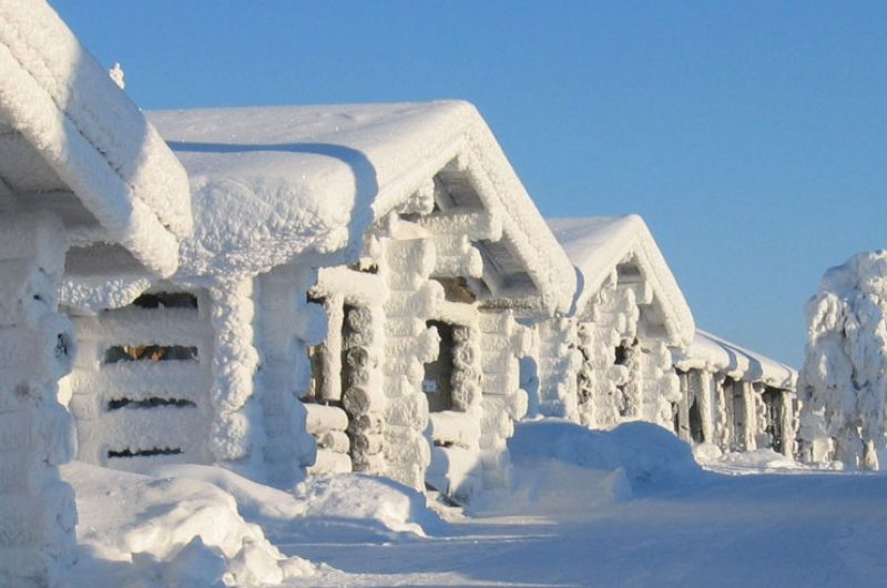 finland lapland iso syote cabins