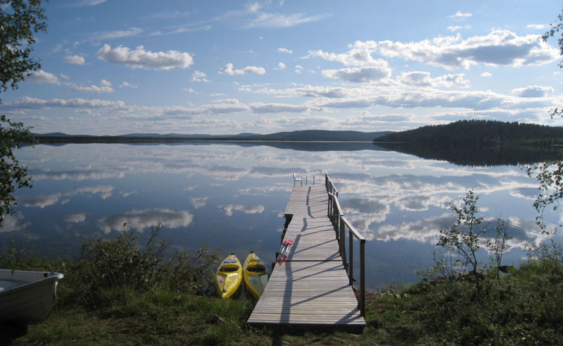 finland lapland korpikartano lake menesjarvi2