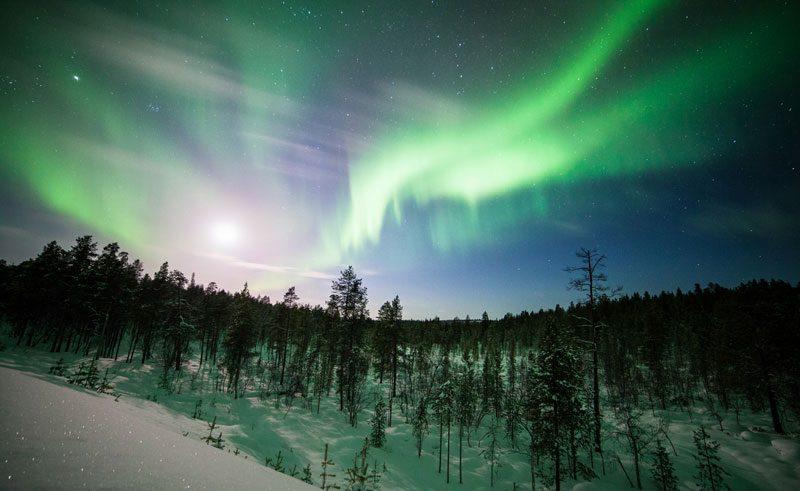 finland lapland muotka northern lights2