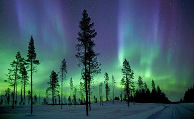 finnish lapland aurora borealis istock