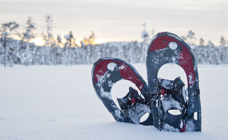 finnish lapland nellim snowshoes