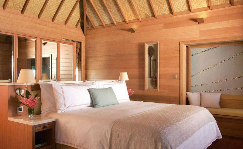 four seasons resort bora bora overwater bunglow interior