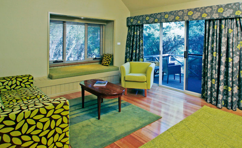 freycinet lodge guestroom