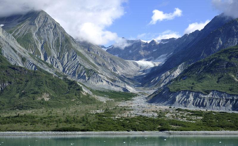glacier bay lodge view