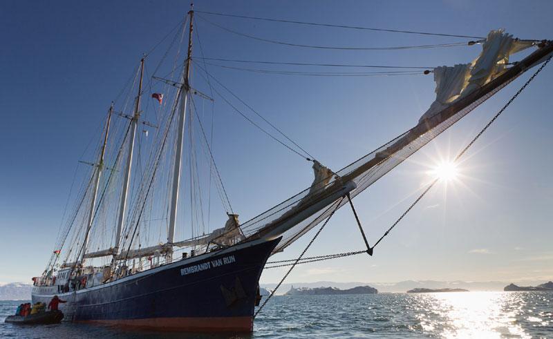 greenland disko bay sailing rembrandt van rijn oc
