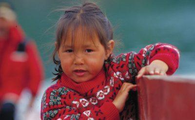 greenland inuit child vg