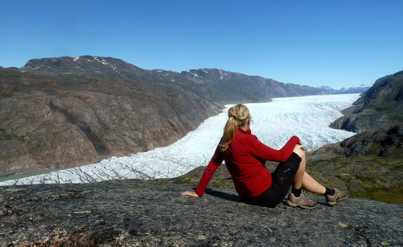 greenland south glacier viewpoint ch