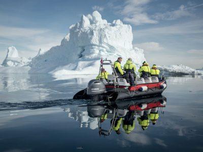 greenland zodiac cruise around icebergs vg