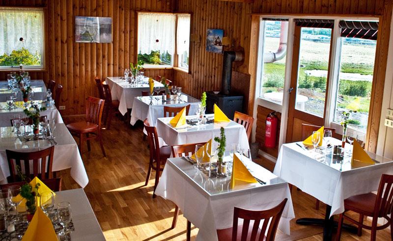 guesthouse eyvindara restaurant