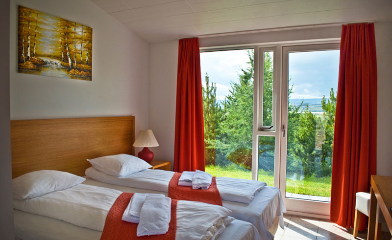 guesthouse eyvindara twin room