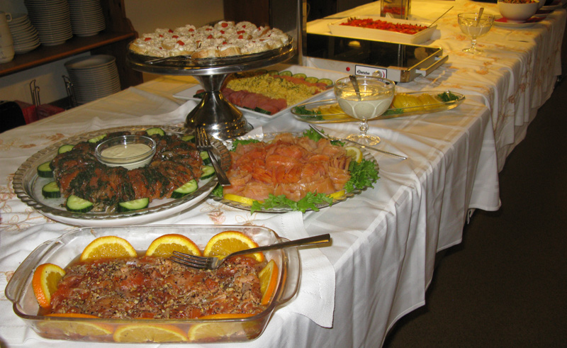 hali country hotel food