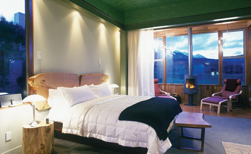 hapuku lodge treehouse guestroom