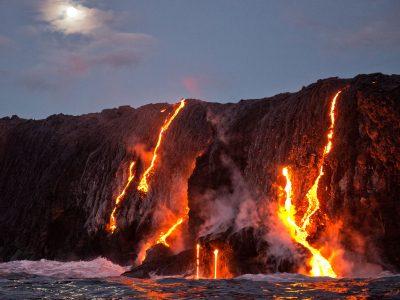 hawaii big island kilauea lava istk