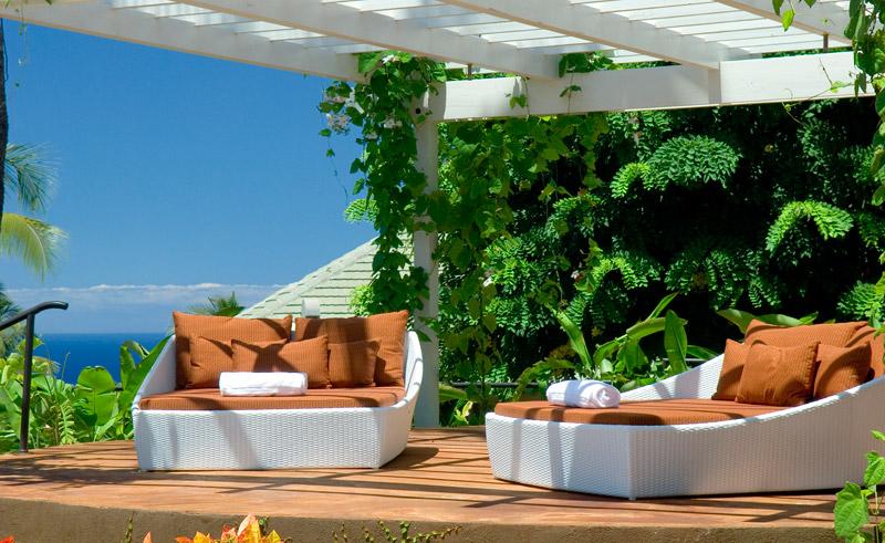 hawaii maui hotel wailea pool beds