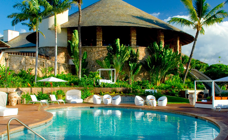 hawaii maui hotel wailea pool day