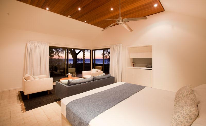 heron island heron point suite bedroom
