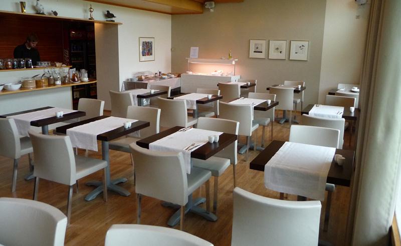 hotel isafjordur dining room