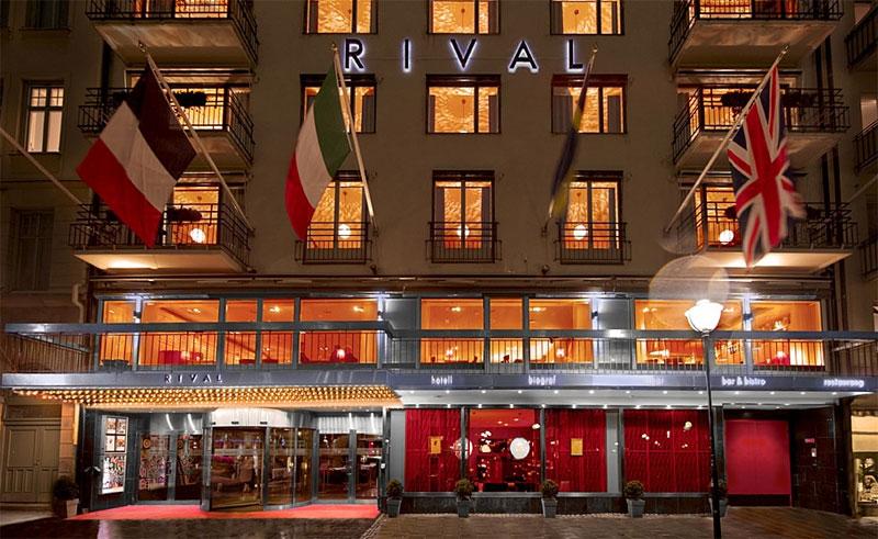 hotel rival exterior