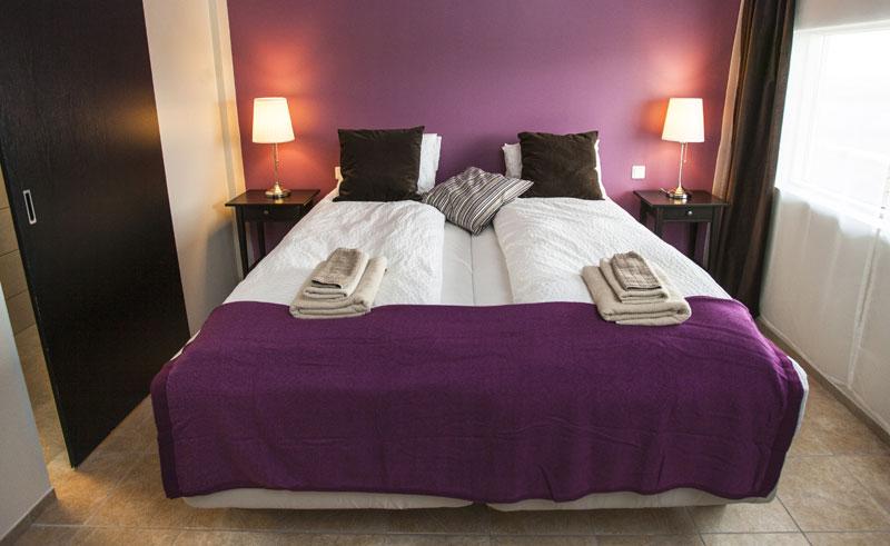 hotel rjukandi bedroom