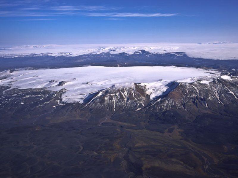 iceland bardarbunga glacier and volcano rth