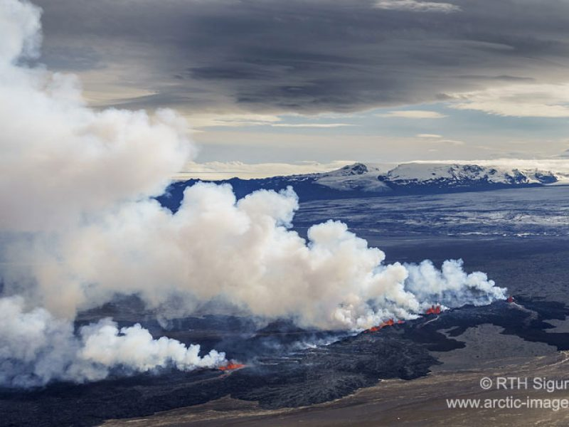 iceland bardarbunga volcanic eruption from air2 rth