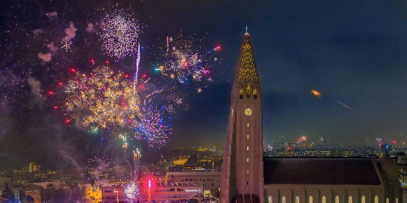 iceland capital region reykjavik fireworks rth