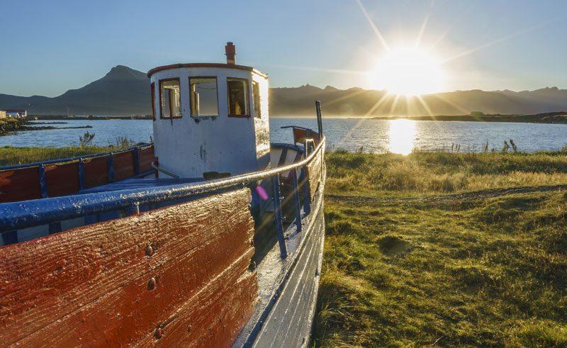 iceland east fjords breiddalsvik fishing boat rth