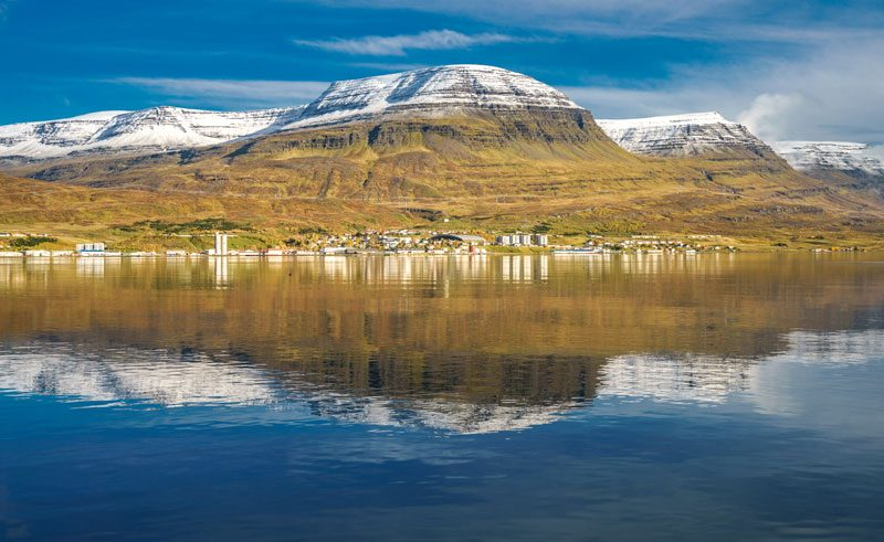 iceland east fjords reydarfjordur rth