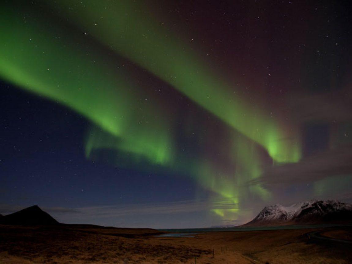 iceland grundarfjordur northern lights ak