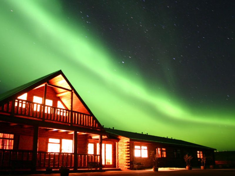 iceland hotel ranga northern lights