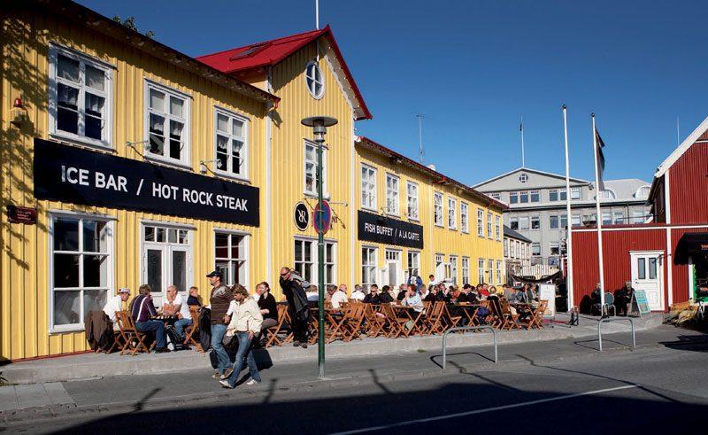 iceland reykjavik city centre rth