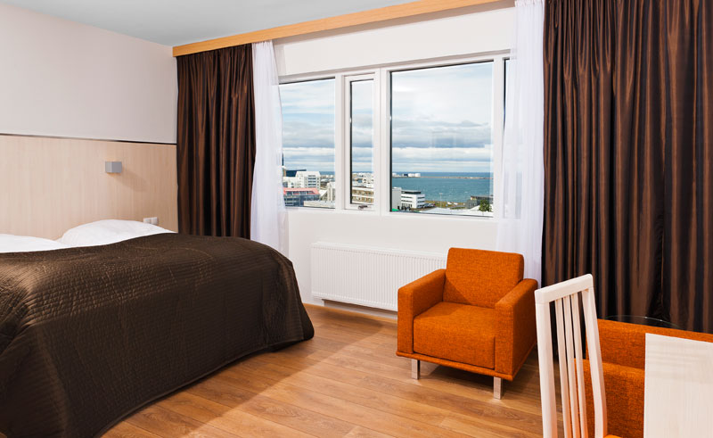 iceland reykjavik hotel klettur superior room