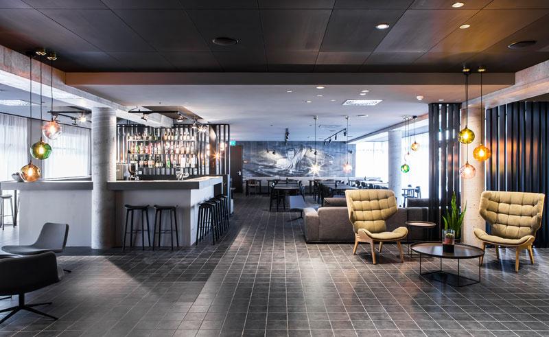 iceland reykjavik skuggi hotel bar lounge