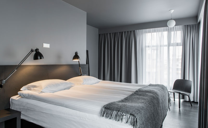 iceland reykjavik skuggi hotel superior room