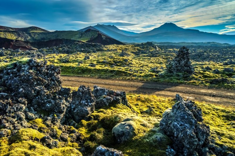iceland snaefellsnes berserkjahraun lava field rth
