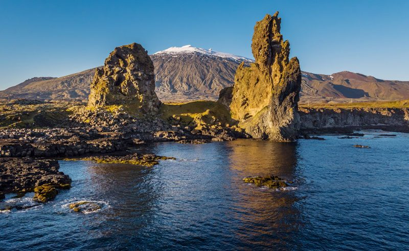 iceland snaefellsnes londrangar volcanic plugs rth