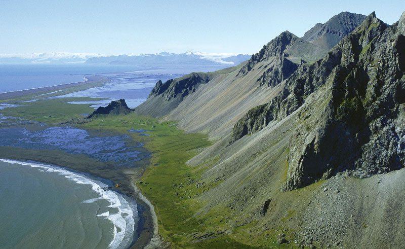 iceland south east vatnajokull mt vestrahorn rth