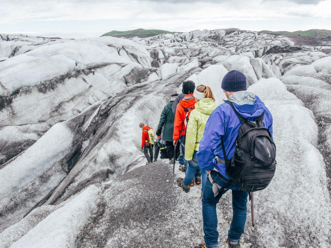 iceland south west glacier hiking group gt