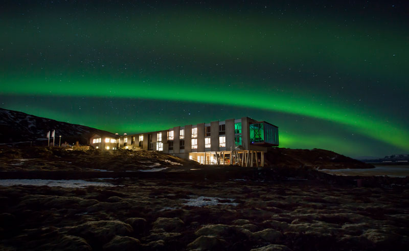 iceland south west northern lights hotel ion gc