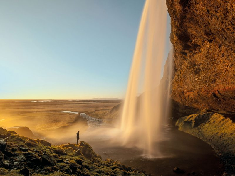 iceland south west seljalandsfoss spring gte