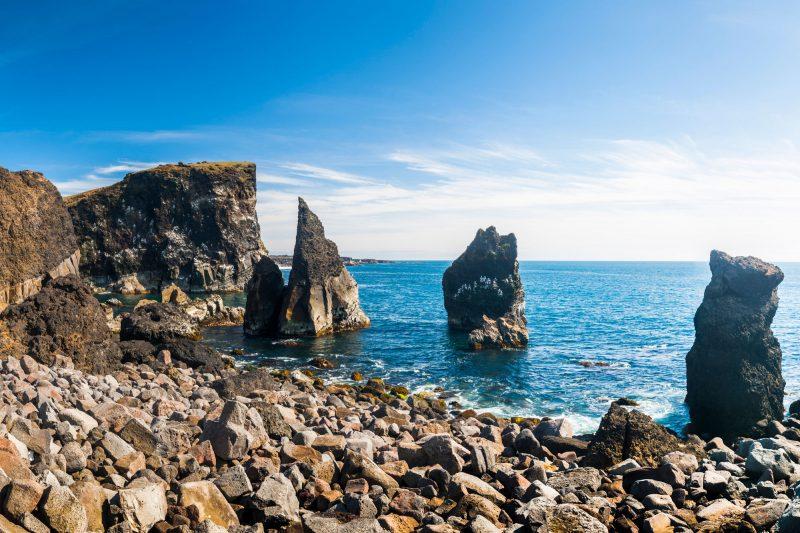 iceland south west valahnukar rock reykjanes istk