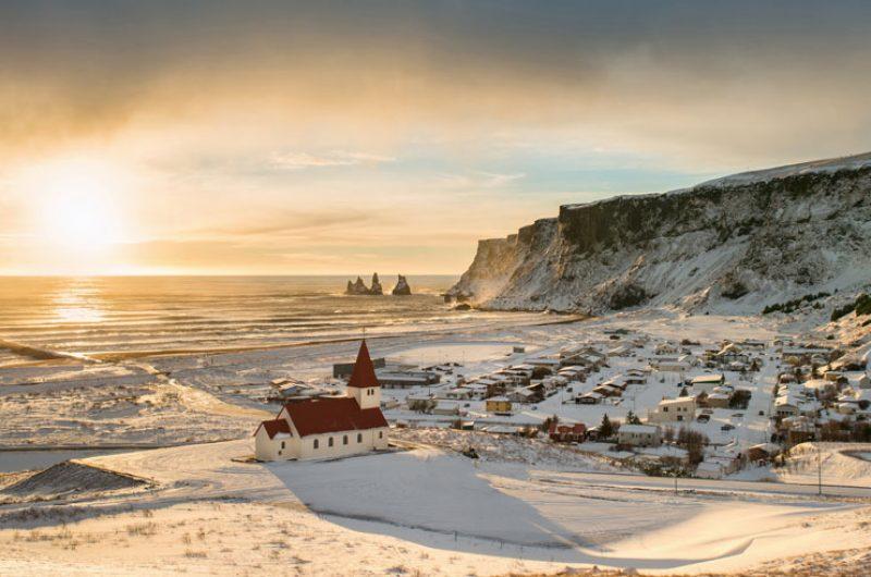 iceland south west vik winter istk