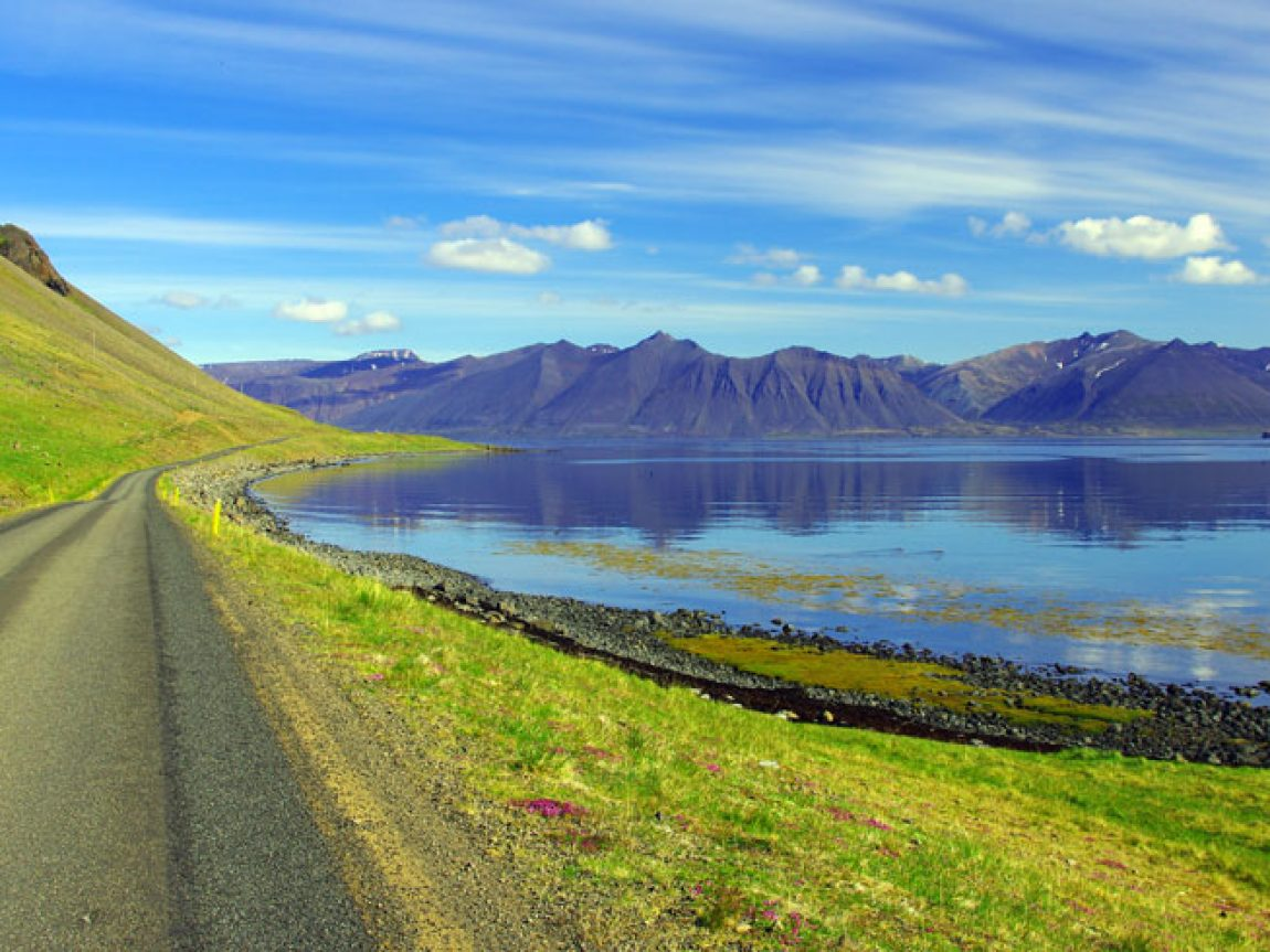 iceland west fjords coast road ss