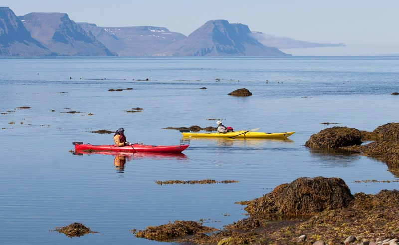 iceland west fjords kayaking ba